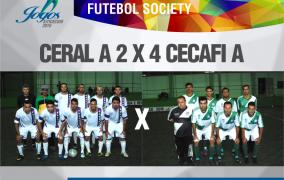 Acompanhe mais um dia de Futebol Society