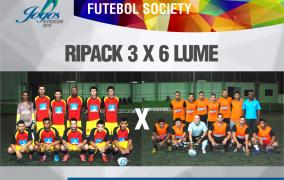Último dia de jogos da 3ª rodada do Futebol Society. Confira!