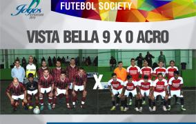 O Futebol Society não para!