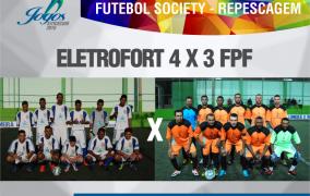 Respescagem Futebol Society - 1ª fase - 28/06