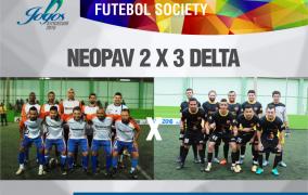 Quartas de Final Futebol Society – 26/07