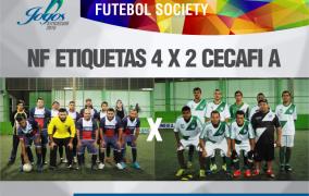 2ª Fase Oitavas de Final Futebol Society – 22/07