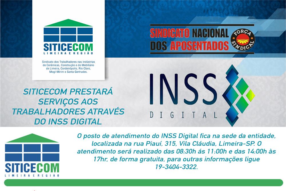 INSS Digital.