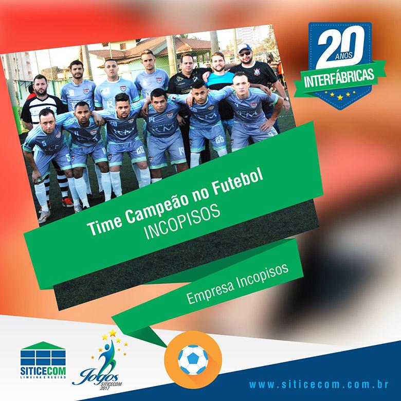 Futebol Interfábricas 05/08