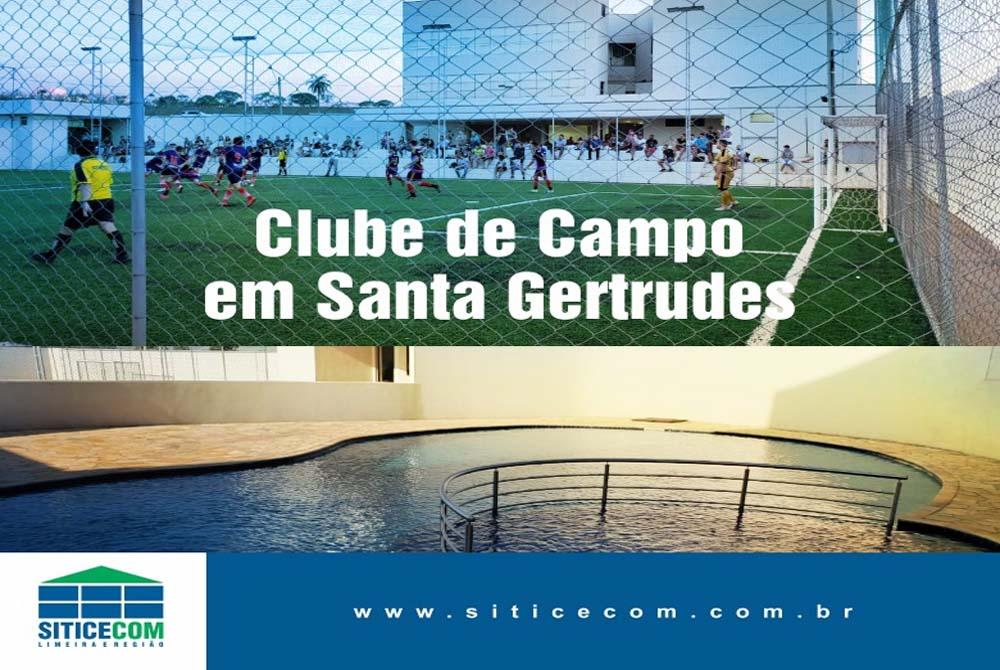 Siticecom inaugura Clube de Campo em Santa Gertrudes.