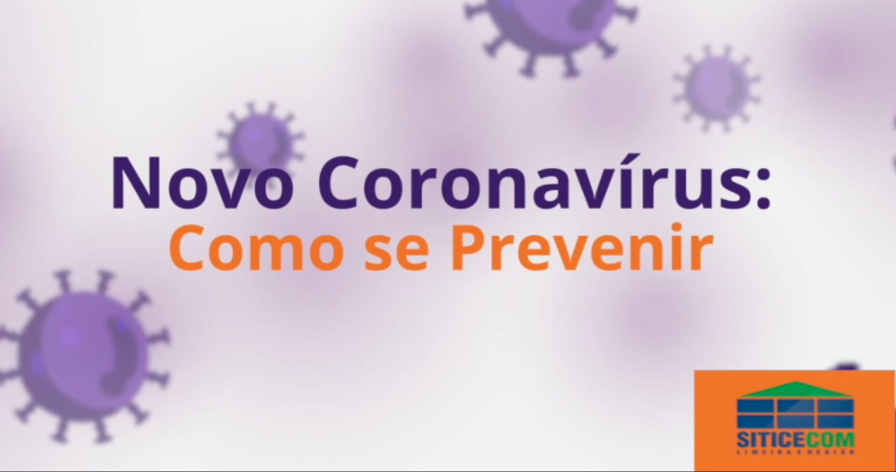 Como previnir o Coronavirus