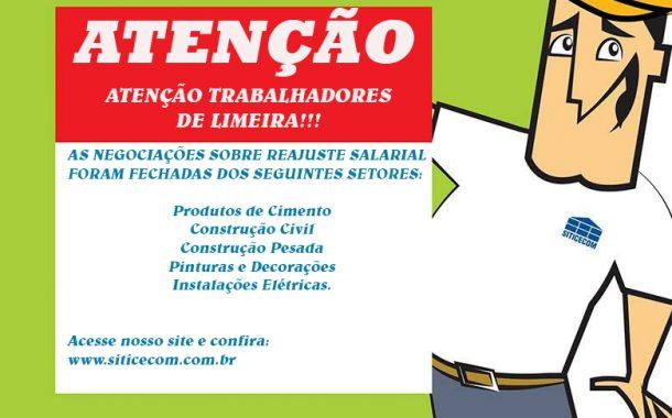 ATENÇÃO TRABALHADORES DE LIMEIRA!!!